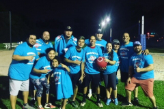 Los Compadres Win Swanny's Kickball League again!  Congratulations!