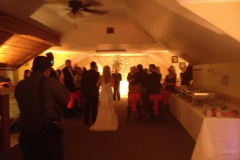 Upstairs Wedding at Swanny's