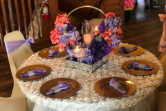 Table set up by Exquisite Design